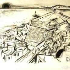 Arte: NOLEGIBLE AÑO 1958 IBIZA. Lote 137619354