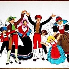 Arte: ANTIGUA ILUSTRACIÓN DE MARÍA PASCUAL - EXTRAÍDA DE LIBRO 1980 - 14X20CM. Lote 137969306