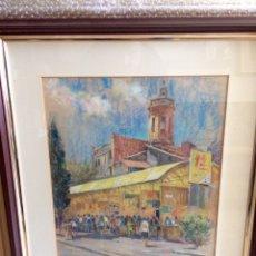 Arte: RAMÓN NOE HIERRO, 1923-2007, 38CM X 47CM. Lote 138651774