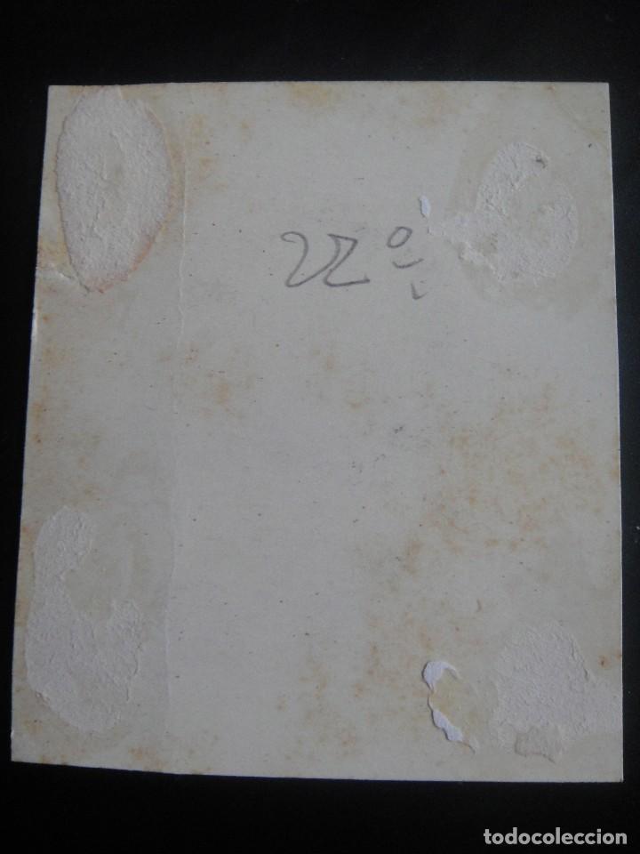 Arte: dibujo original a plumilla , alfonso daudet - firmado a. ruiz - barcelona 1891 - Foto 4 - 138978866