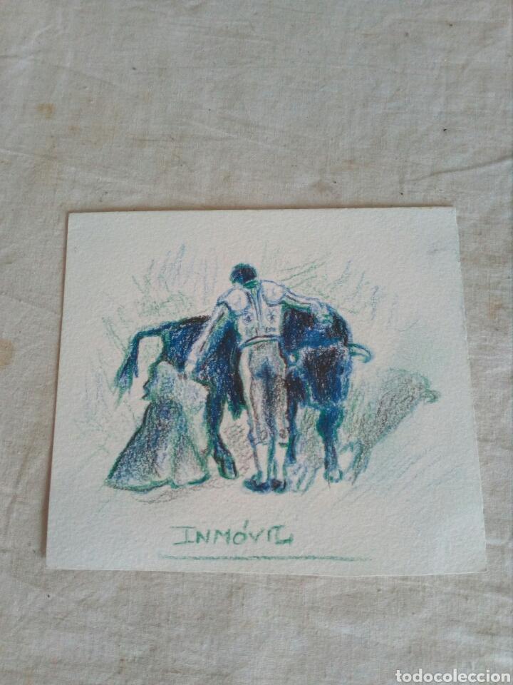Dibujo De Torero A Lapiz De Color Confirma Por Kaufen