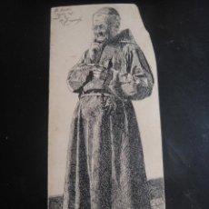 Arte: DIBUJO ORIGINAL A PLUMILLA , - FIRMADO A. RUIZ - AÑO 1890 . Lote 139214710