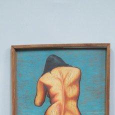 Arte: MUJER DE ESPALDAS. INFLUENCIA DALI. Lote 139454954