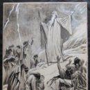Arte: FRANS GAILLIARD (BÉLGICA, 1861-1932) - MOISÉS BAJA DEL MONTE SINAÍ. Lote 28591531