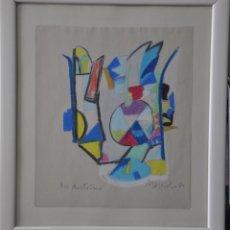 Arte: UGO NESPOLO - PINTOR ITALIANO - PINTURA ORIGINAL , FIRMADA - VENECIA 1989. Lote 139789714