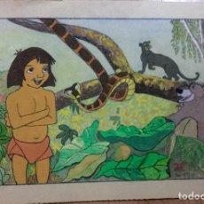 Arte: DIBUJO ANIMADO RETRO VINTAGE DE MOUGLI FIRMADO CAMPS . Lote 139895638