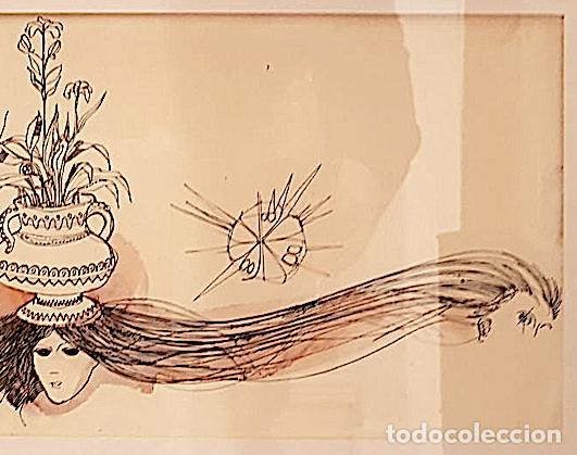 Arte: DIBUJO ORIGINAL FIRMADO ESTRUGA - Foto 3 - 140289694