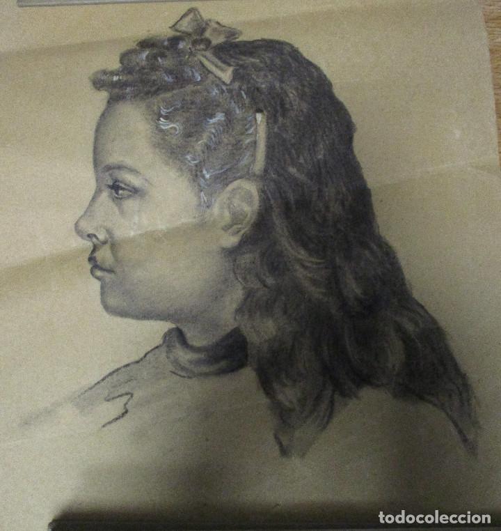 Arte: lote 3 dibujos originales ANTONIO MONTAGUD años 50 - Foto 4 - 140299326