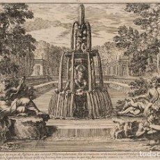 Arte: JEAN LEPAUTRE. 1618-1692. AGUA FUERTE SOBRE PAPEL. ESCENA MITOLÓGICA. MEDIDAS: 24*16CM. Lote 140934302
