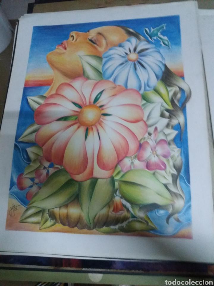Dibujo Lapiz Color Berenguer López 1984 Kaufen Zeitgenössische