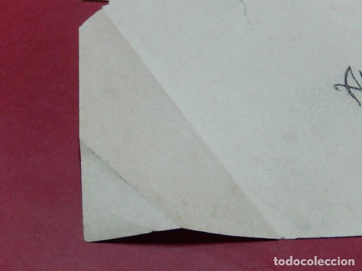 Arte: Dibujo a carboncillo / lápiz, de Adolf Hitler. Firmado Albert Speern. - Foto 10 - 141500498