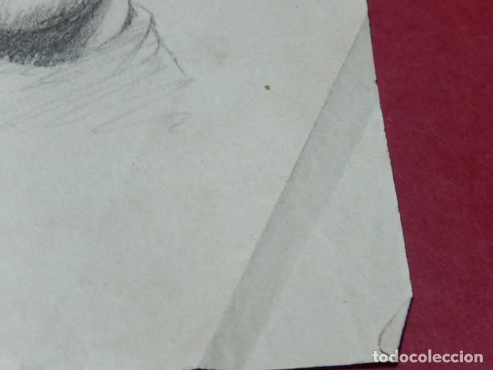 Arte: Dibujo a carboncillo / lápiz, de Adolf Hitler. Firmado Albert Speern. - Foto 11 - 141500498