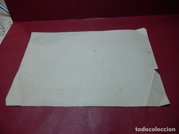 Arte: Dibujo a carboncillo / lápiz, de Adolf Hitler. Firmado Albert Speern. - Foto 13 - 141500498