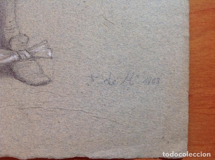 Arte: Federico de Madrazo. Personaje de época. - Foto 2 - 141520986
