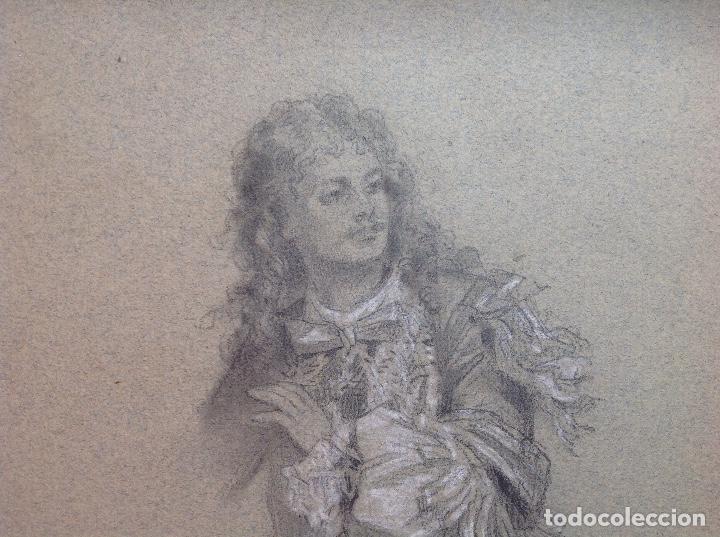 Arte: Federico de Madrazo. Personaje de época. - Foto 3 - 141520986
