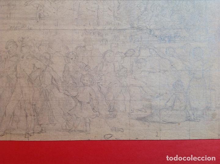 Arte: Vicente Poveda. Escena campestre. - Foto 5 - 141521278