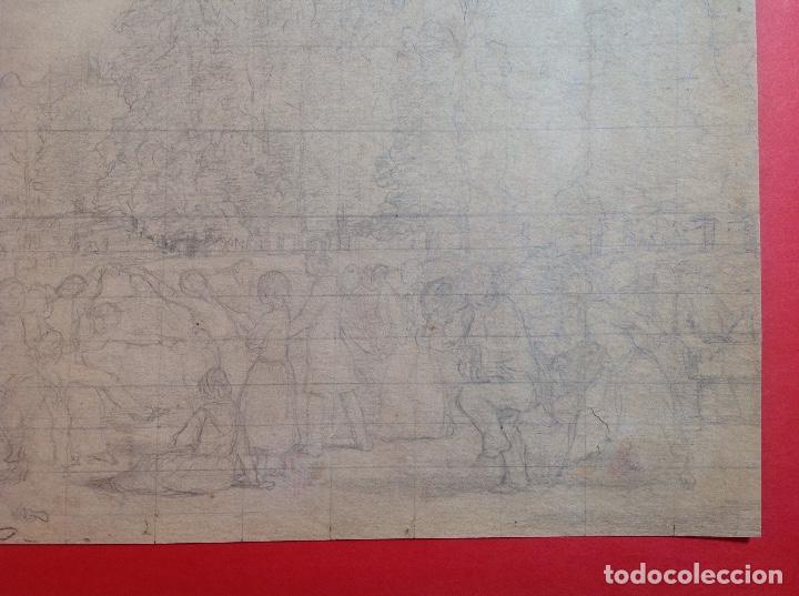 Arte: Vicente Poveda. Escena campestre. - Foto 6 - 141521278