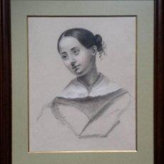 Arte: RETRATO AL PASTEL, SIGLO XIX. Lote 141721518