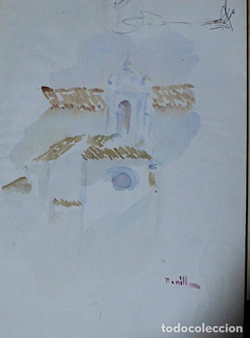 Arte: JOSE BONILLA DIBUJO TINTA BODEGON - Foto 6 - 141825938