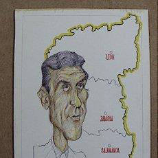 Arte: CARICATURA FERNANDO SUAREZ FIRMADA VIGUERAS. Lote 141933066