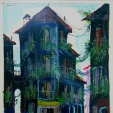 Arte: MORENNO (MÁLAGA 1931), PRECIOSA OBRA ORIGINAL FIRMADA.. Lote 142280070