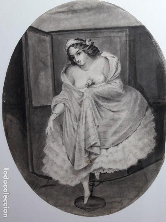 Arte: Dibujo siglo XIX Romántico - Foto 2 - 142883718