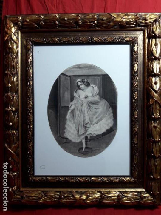 DIBUJO SIGLO XIX ROMÁNTICO (Arte - Dibujos - Modernos siglo XIX)