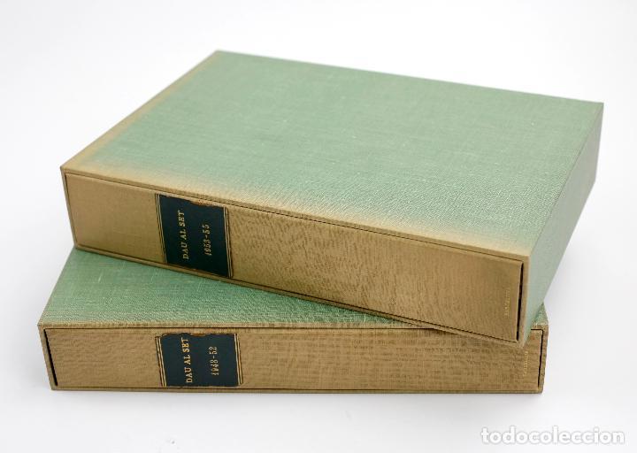 REVISTA DAU AL SET, 1948 - 1955, CON ORIGINALES, 45 NÚMEROS, THARRATS, TÀPIES, BROSSA, CUIXART, PONÇ (Arte - Dibujos - Contemporáneos siglo XX)