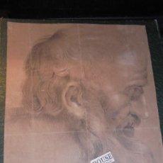 Arte: ANTIGUO DIBUJO SIGLO XVIII- XIX - NO PODEMOS LEER LA FIRMA PUIGG..OS..¡¡ - PERDIDA DE UNA PUNTA DE P. Lote 143728474