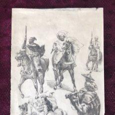 Arte: DIBUJO ORIGINAL Y FIRMADO (TAPIRO BARÓ). Lote 108375486