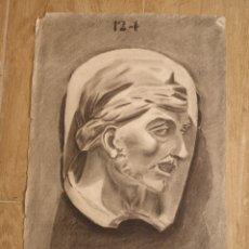 Arte: DIBUJO ACADÉMICO, CARCBONCILLO FIRMADO, NUMERADO 31X47CM. Lote 143928978