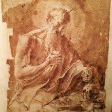 Arte: SAN JERÓNIMO MUY CERCANO A LUIS TRISTÁN (1586-1624). Lote 144091764