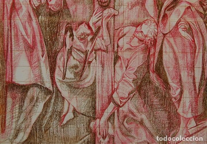 Arte: Copia original del famoso cuadro del Greco: La Crucifixión - ¡ Mejor Ver ! - Foto 6 - 144498430