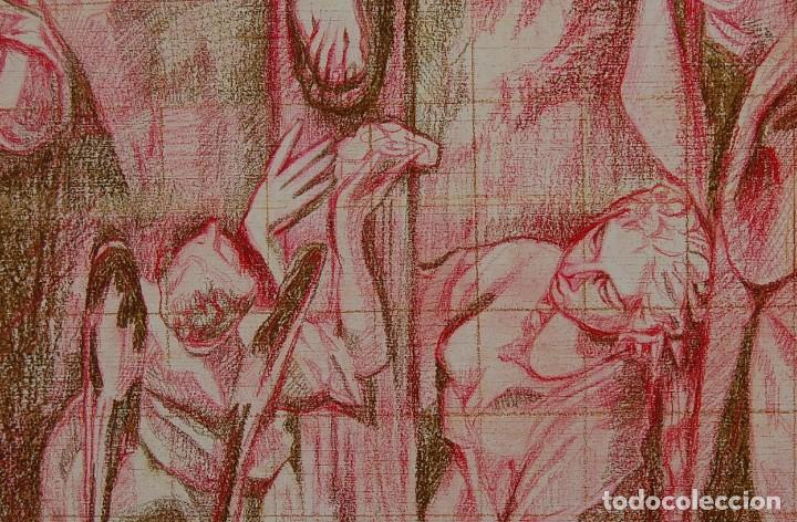 Arte: Copia original del famoso cuadro del Greco: La Crucifixión - ¡ Mejor Ver ! - Foto 7 - 144498430