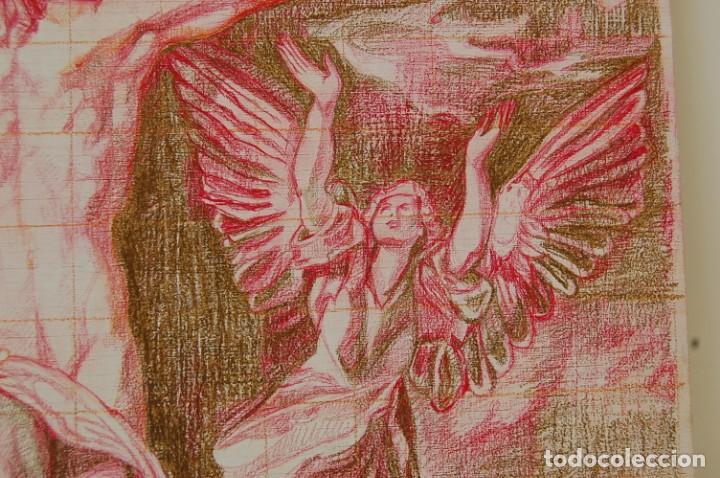 Arte: Copia original del famoso cuadro del Greco: La Crucifixión - ¡ Mejor Ver ! - Foto 9 - 144498430
