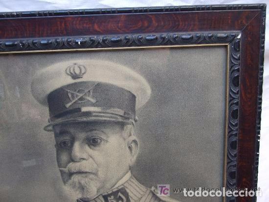 Arte: RETRATO AL CARBON DE UN MILITAR - Foto 4 - 145016058