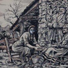 Arte: JOSÉ MARÍA MUGUERZA (BILBAO1908/1986). DIBUJO DE 48 X 34 CM. AÑO 1962. BUEN ESTADO.. Lote 145169150