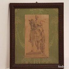 Arte: ROSSEND NOBAS I BALLBE, (1838-1891), LÁPIZ SOBRE PAPEL. Lote 145372182