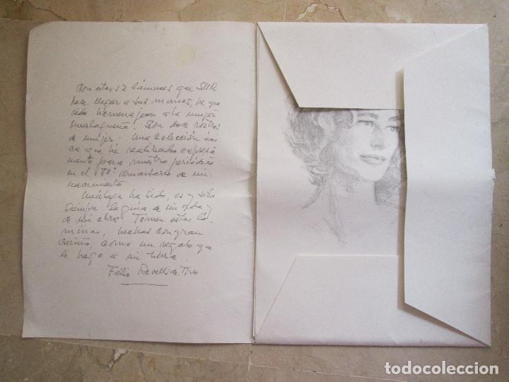 Arte: REVELLO DE TORO - DOCE ROSTROS DE MUJER - 12 LAMINAS CON CARPETILLA - 40X29 - Foto 2 - 145389814
