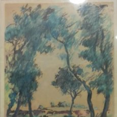 Arte: JOAN VILA PUIG. (1890.1963). DIBUJO SOBRE PAPEL.1ª EPOCA.. Lote 145710354
