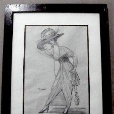 Arte: JOSE DE ZAMORA, ORIGINAL DISEÑO VESTUARIO. Lote 145730590