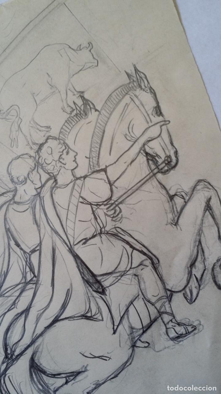 Arte: Dibujo del siglo XIX - Foto 3 - 145839494