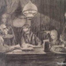 Arte: ANTIGUO DIBUJO A LÁPIZ DEL SIGLO XIX. Lote 145843170