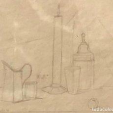 Arte: JOAQUIN PEINADO - DIBUJO SOBRE PAPEL - 1944 - FIRMADO. Lote 145996062