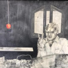 Arte: LAURA SAURI - DIBUJO - 1974 - FIRMADO. Lote 146092838