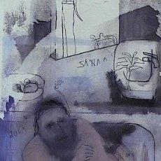 Arte: ALBERT GONZALO, TECNICA MIXTA. Lote 146531322