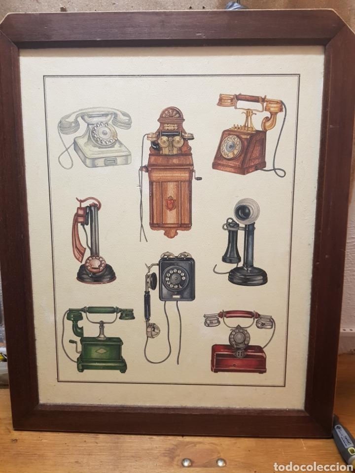 Precioso Cuadro De Teléfonos Antiguos Kaufen Zeitgenössische