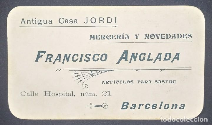 Lote 4 dibujos originales sobre tarjetas de visita Francisco Anglada 14 x 8 cm - 147717486