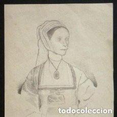 Arte: HANS HOLBEIN EL JOVEN, DIBUJO EXCELENTE !!. Lote 153301076