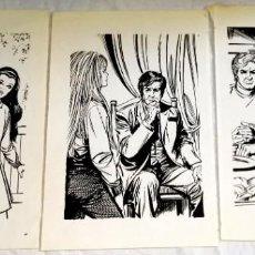 Arte: ILUSTRACIONES DE CARLOS PRUNÉS 1972 / EXTRAÍDAS DE LIBRO - 18X12CM. Lote 148411518